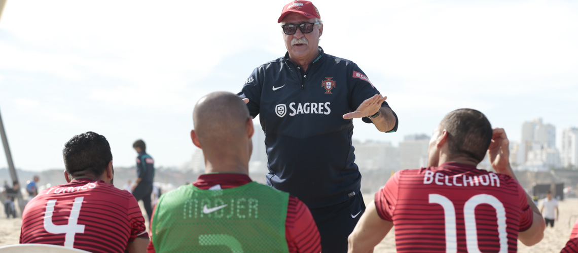 Futebol de Praia: 12 jogadores convocados para o Mundial