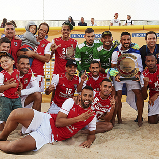 Futebol de Praia: SC Braga é Campeão da Europa