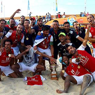 SC Braga sagra-se campeão nacional de futebol de praia