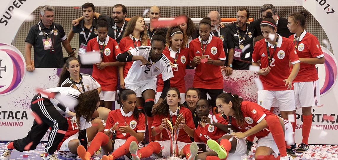 Benfica conquista Supertaça feminina de futsal
