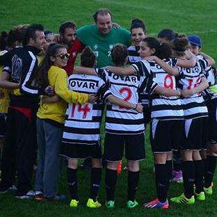 Ovarense sobe à Liga Allianz de futebol feminino
