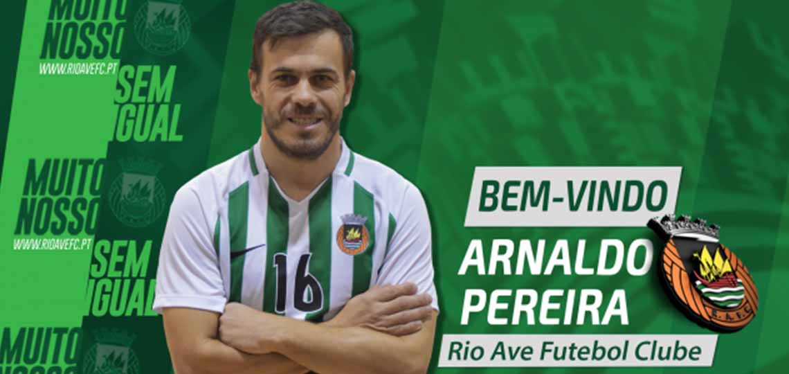 Impressões Digitais: Arnaldo Pereira (Rio Ave)