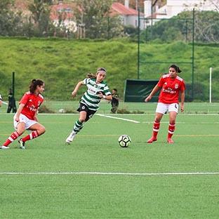 Sporting e Benfica: a rivalidade também no futebol feminino