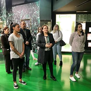 Visita de autor ao Museu do Sporting