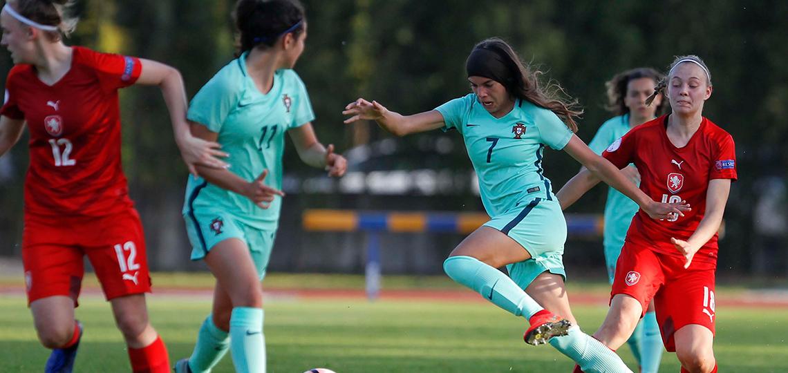 A 2.ª participação de Portugal no Europeu feminino sub-17
