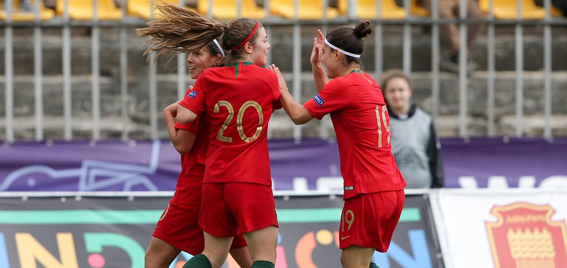 Portugal nas meias-finais do Europeu feminino sub-17