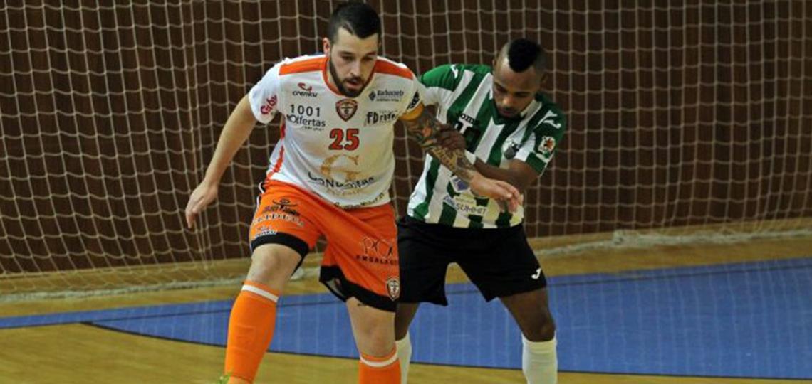 Impressões Digitais: João Vigário (Futsal Azeméis)