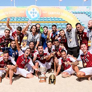 SC Braga faz a dobradinha no futebol de praia